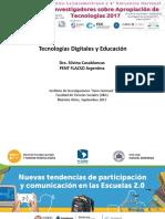 Tecnologías digitales y educación