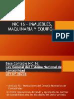 NIC 16 P.P.E