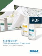 Stainblaster Brochure English