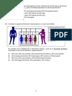 práctica de genética - Bachillerato