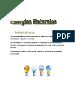 Definición de Energía