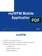 MyWFM Mobile Application