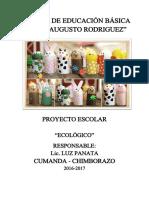 5to C LUZ PANATA Proyecto Educativo