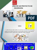 etapas proyectos de inversión