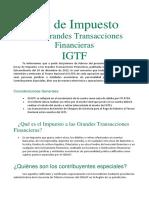 Ley de Impuesto IGTF