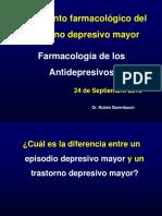 ANTIDEPRESIVOS CURSO CAPÍTULO PSICOFARMACOLOGÍA (1)