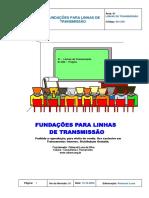Linhas de Transmissão - Fundações