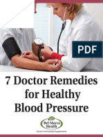 7 Doctor Remedies for Healthy Blood Pressure