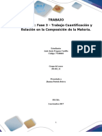 1Formato Entrega Trabajo Colaborativo – Unidad 2_ Fase 3 - Trabajo Cuantificación y Relación en La Composición de La Materia
