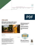 Motivação de Aluno Pode Vencer Barreira Social, Afirma Estudo - 20-09-2017 - Educação - Folha de S