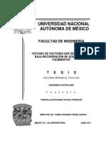 BAJA RECUPERACIÓN DE ACEITE EN LOS YACIMIENTOS.docx