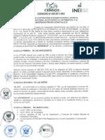 Convenio INEI-UCV -  CENSO 2017