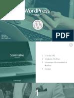 Présentation WORDPRESS 1.2