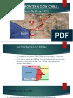 La Frontera Con Chile