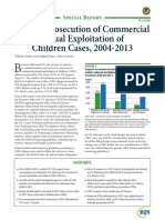 Federal Prosecution of Commercial Sexual Exploitation of Children Cases, 2004-2013