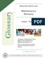Math Glossary EnRo