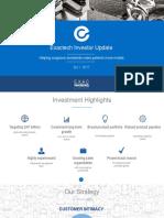 EXAC Investor Presentation