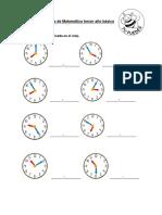 Guía de la hora