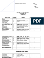Plan Calendaristica