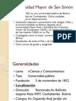 Estatuto Organico de La Umss