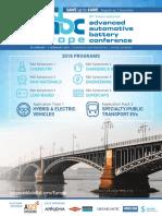 2018 Advanced Automotive Battery Conference Europe Brochure