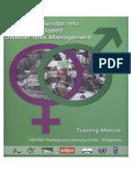 Integrating Gender Into CBDRM Training Manual