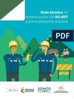 09-15-2017 Guía Técnica Implemetación Del SG-SST Pequeña Minería