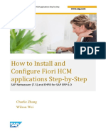 How to Install and Configure Fiori HCM Applications Step-By-Step (1)