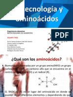 Biotecnología de aminoácidos