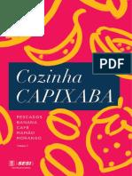 Livro Cozinha Capixaba 1o Volume
