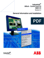 3BSE020923R4101 a en S800 I O - General Information and Installation - User s Guide