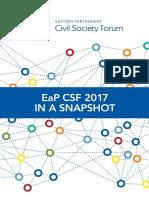 EaP CSF 2017 in a Snapshot