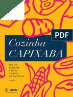 Livro Cozinha Capixaba 2o Volume