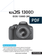 Manual Canon Eos 1300 d