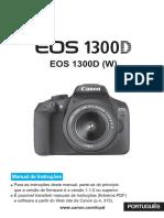 Manual Canon Eos 1300 d