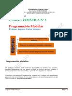 Sesion 5 Progrn Modular