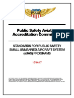 Standards for use of drones by public safety agencies released