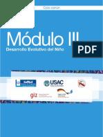 Módulo III Desarrollo Evolutivo Del Niño