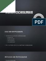 Kryptographie Referat