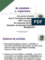 C 8 Sisteme de Sanatate Finantare