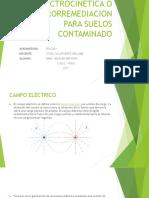 Electrocinetica o Electrorremediacion Para Suelos Contaminado
