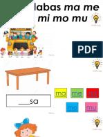 Juego de Silabas (Ma Me Mi Mo Mu)