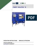 Zumet Matic X Manual (HERBALIFE)