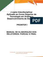 PROINTER I TADS_Manual de Elaboração e Ficha Descritiva