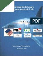 Bertelsmann Case