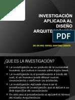 Investigacion Aplicada Al Diseño Arquitectonico (a)
