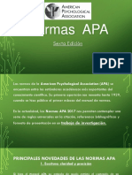 Normas APA Sexta Edición 2017