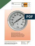 Termometro Bimetalico Kobol Ref. Scf-0032-11