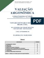 Avaliação Ergonomica - Vmware