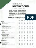 Case International 235 235H 245 255 265 275 Shop Manual